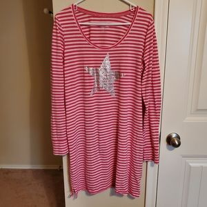 Victoria's Secret Long Sleeve Sleepshirt